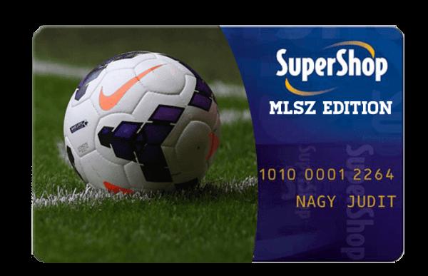 MLSZ Supershop kártya