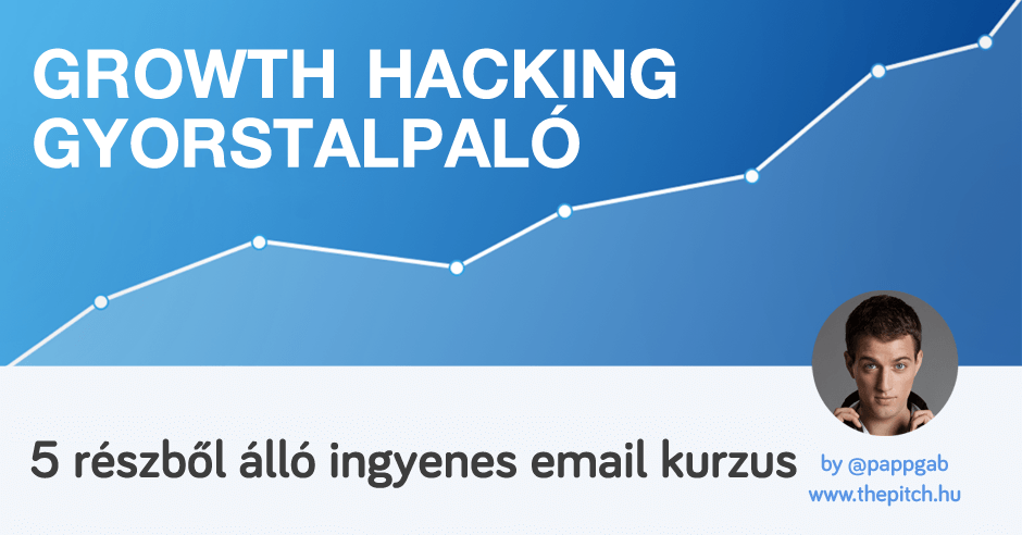 Growth hacking email kurzus