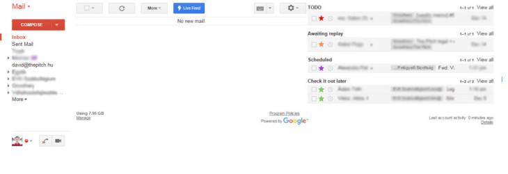 Gmail jó példa