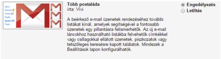 Gmail több postaláda beállítása