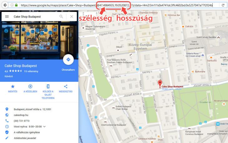 CakeShop Local SEO: Google Maps pozíció
