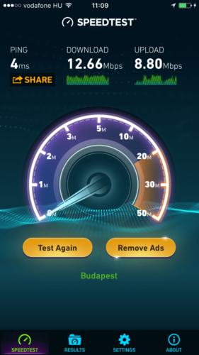 WiFi-sebesseg-teszt-eredmeny