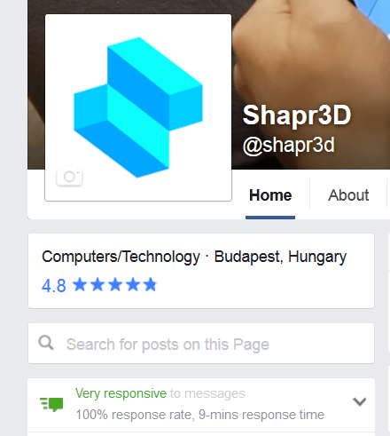Facebook Shapr3D