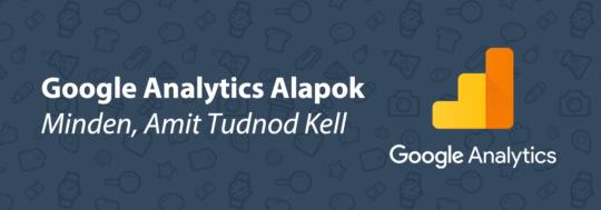 Google Analytics Alapok - borítókép