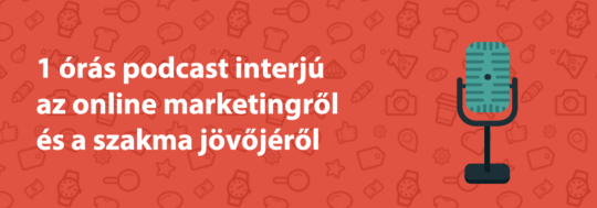Online marketing podcast interjú