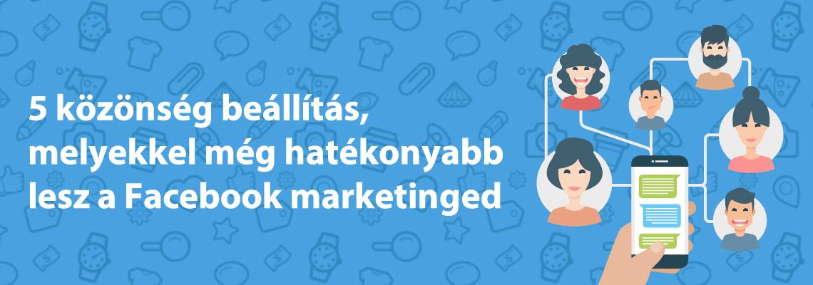 hatékony facebook marketing