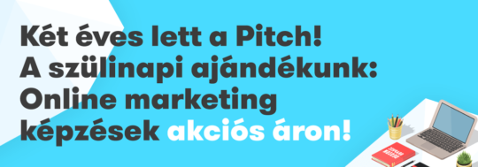 2 éves a The Pitch online marketing és SEO blog
