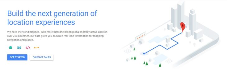 Goolge Maps API