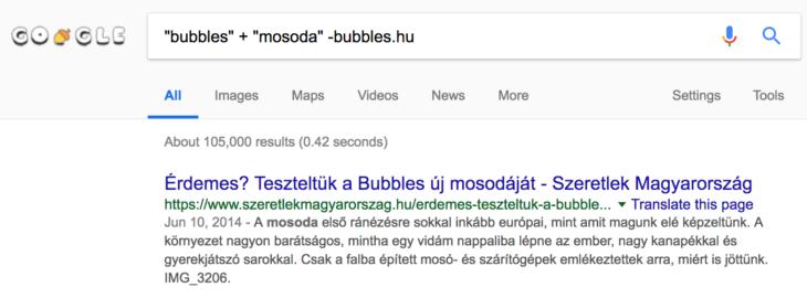 haladó google keresés
