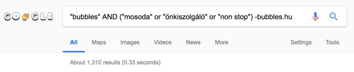 még haladóbb google keresés