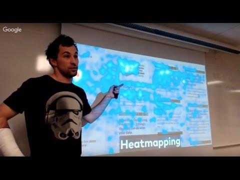 Mester Tomi heatmapping és data science előadás
