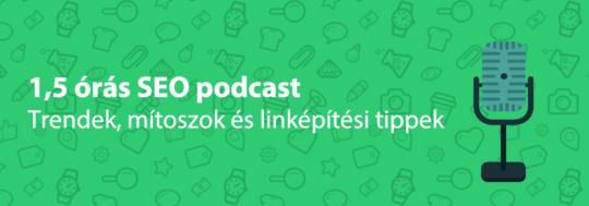 seo podcast interjú