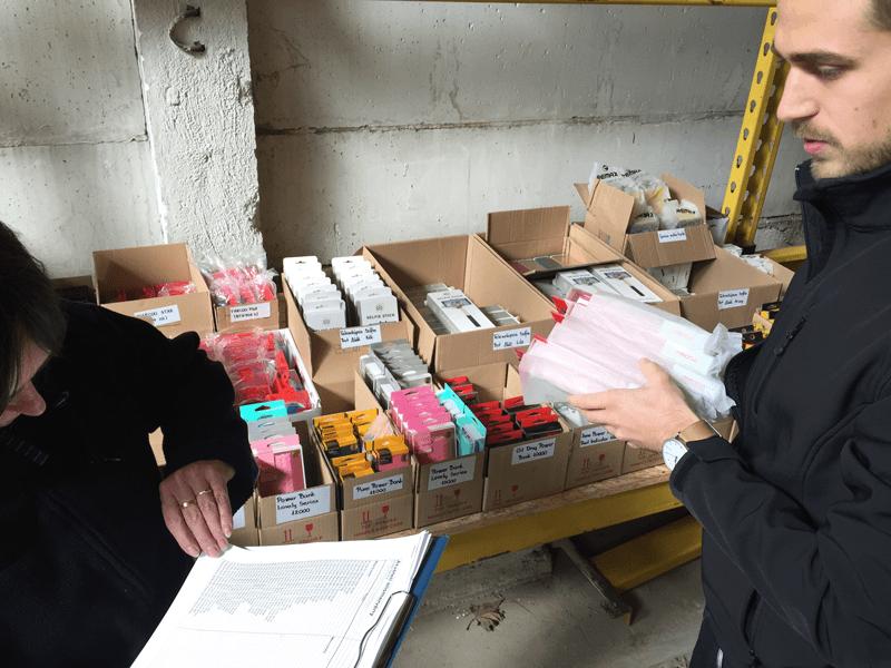 proda ecommerce termékek csomagolása