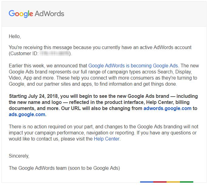 google adwords helyett google ads