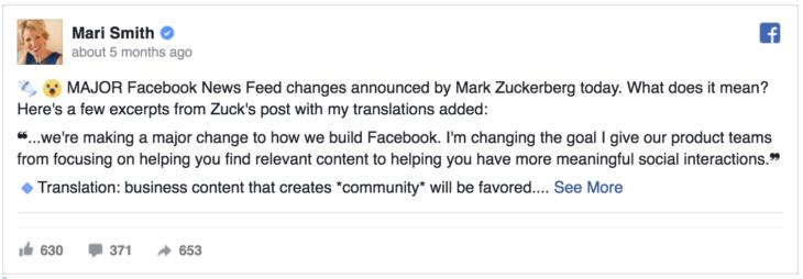 facebook zero algoritmus változások