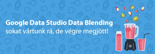 google data studio data blending