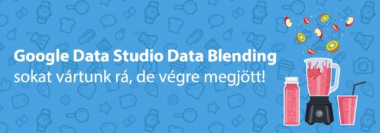 google data studio data blending