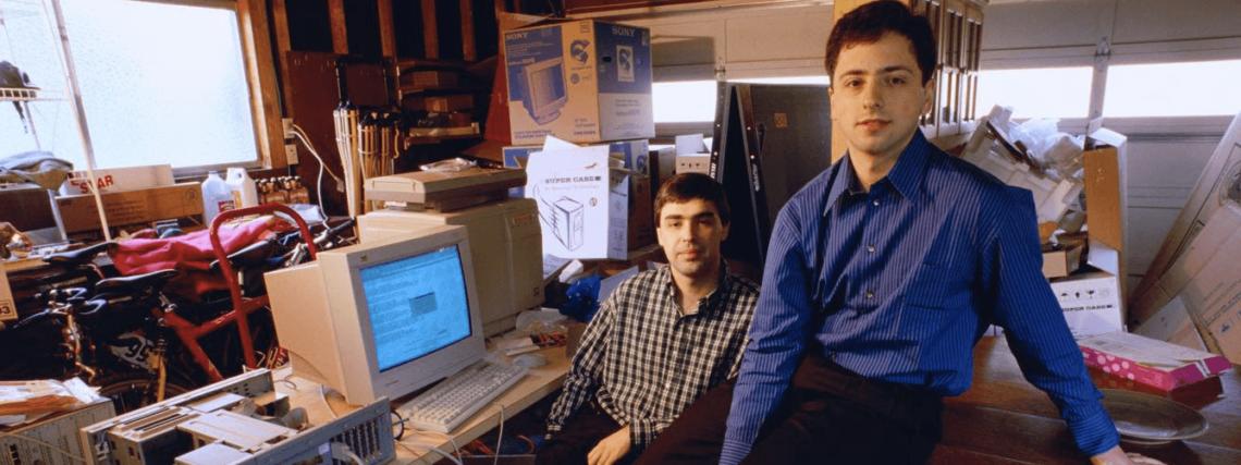 Larry Page és Sergey Brin: A Google alapítói