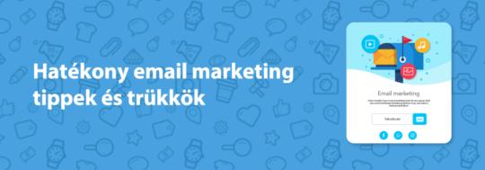 email marketing tippek, trükkök