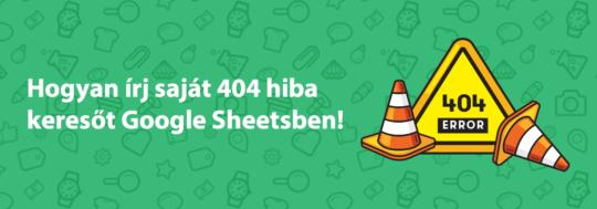 404 hiba - oldal nem található