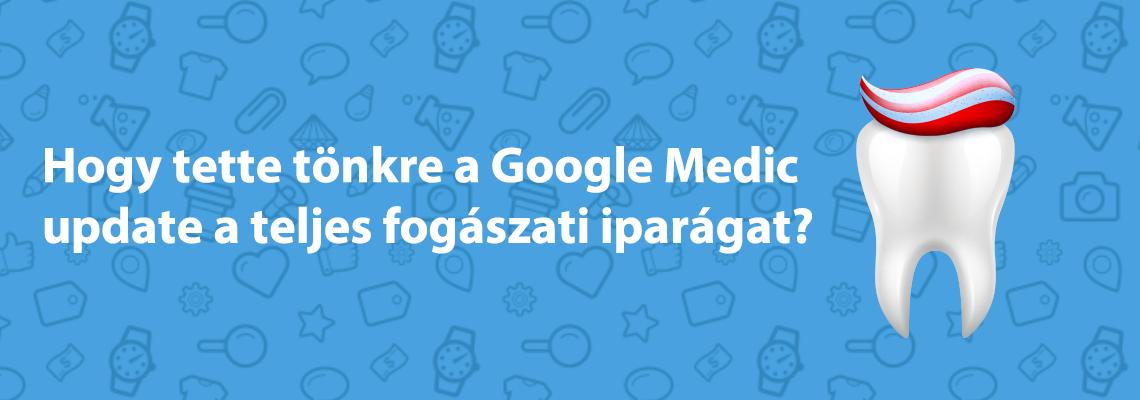 google medic algoritmus frissítés