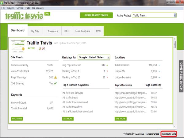 Traffic Travis helyezés vizsgáló