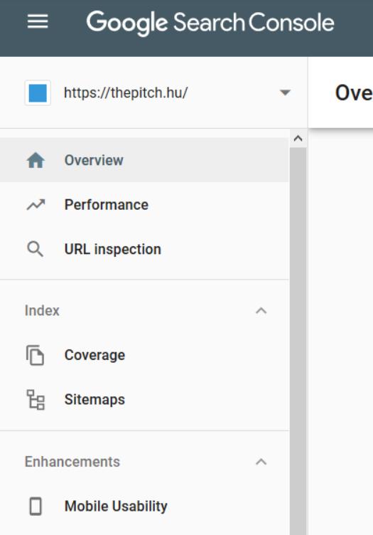 google webmester eszközök - mobile usability