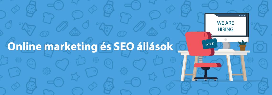online marketing állások