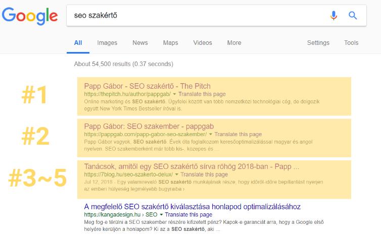 google seo szakértő