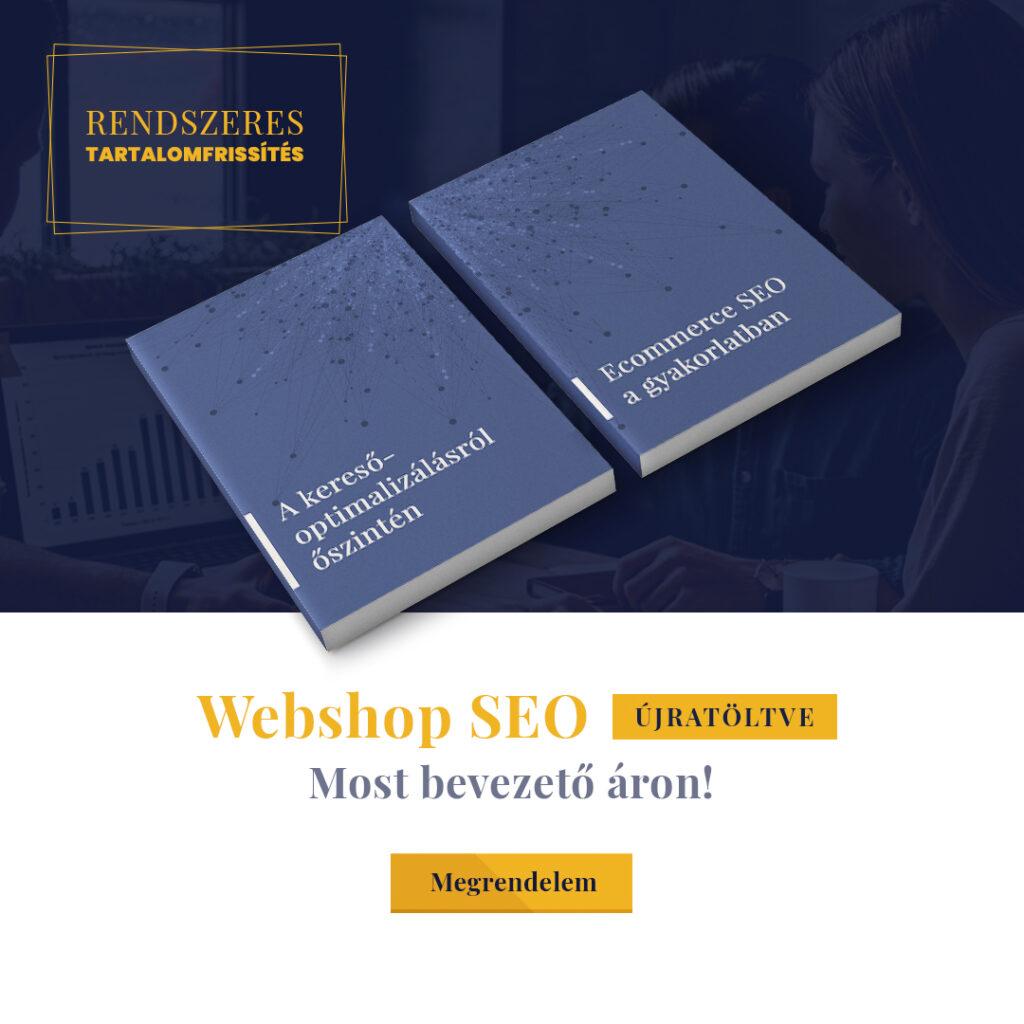 webshop seo könyv