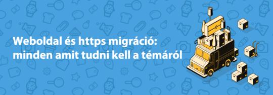 weboldal és https migráció esetei