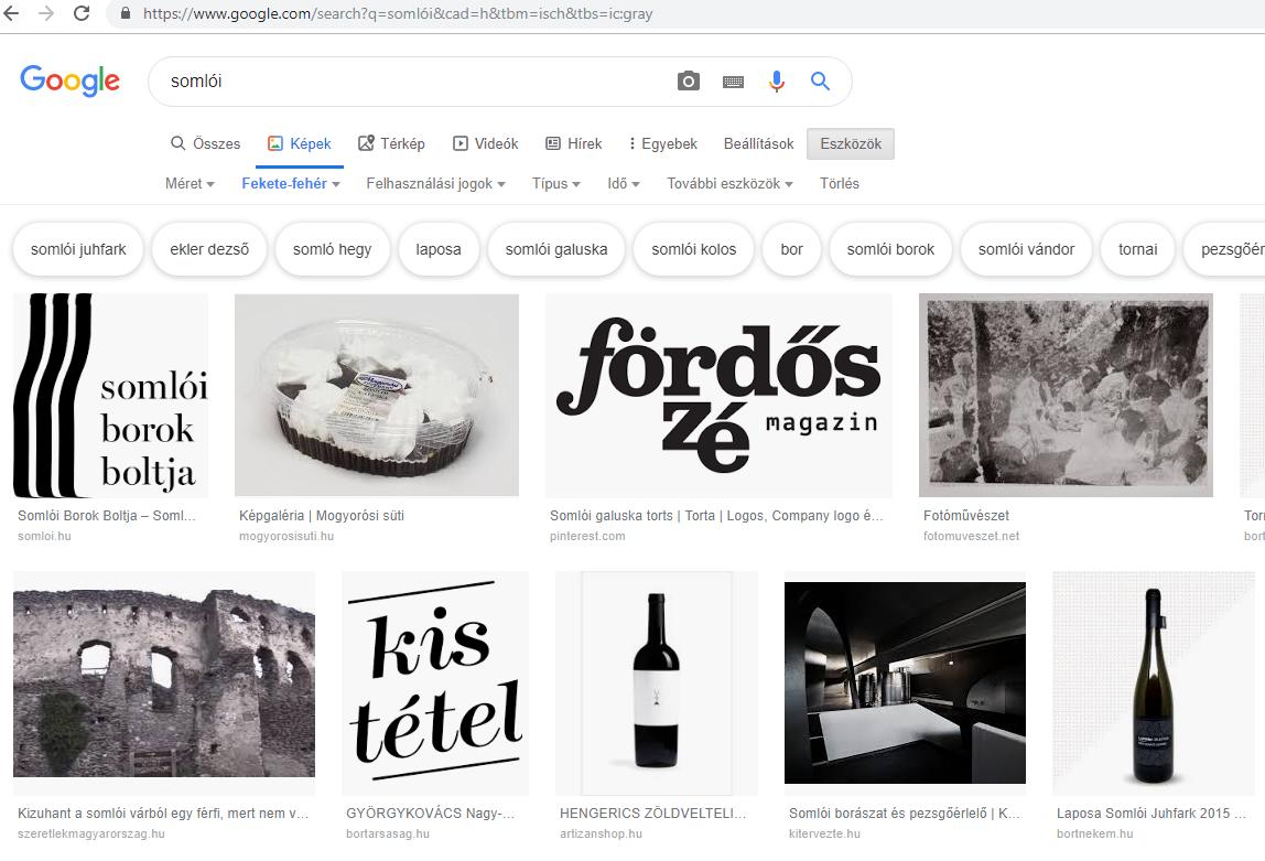 Google keresés isch
