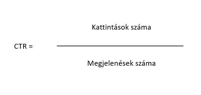 kattintási arány számolása (CTR)