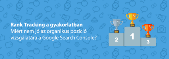rank tracking google search console